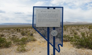 nuclear test site